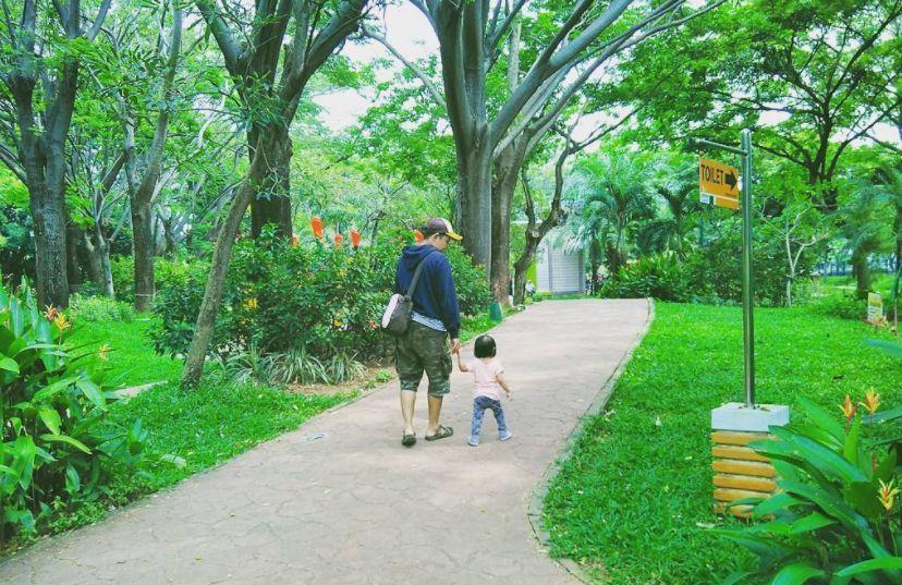 Taman Jogging Kelapa Gading via @sukmatea2s