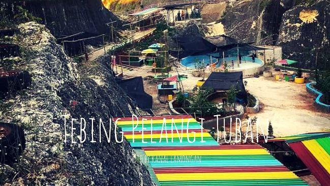 Wisata Tebing Pelangi via Kanallamongan