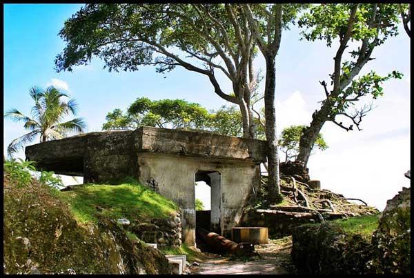 Benteng Bunker Jepang via Pulauweaceh