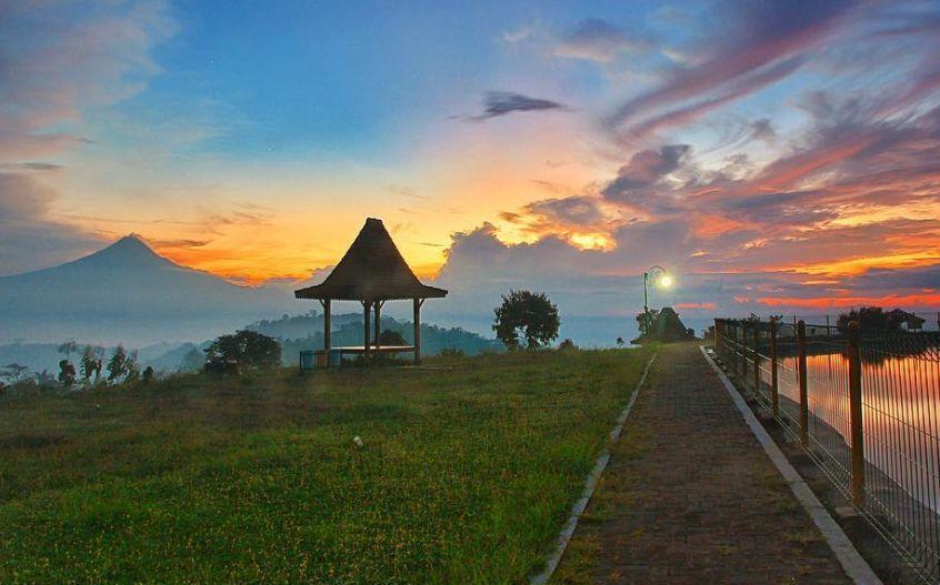 Embung Banjaroya via @rizal_rosyadi