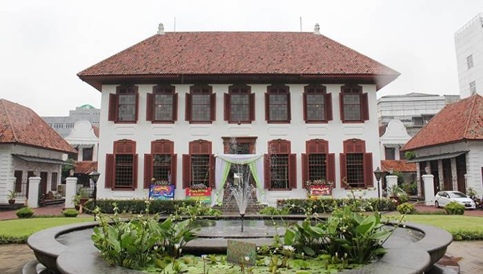 Gedung Arsip Nasional via sugaranspace