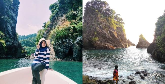 Gua Sarang via @febbykhairuna (kiri), @muhammadramazan8 (kanan)