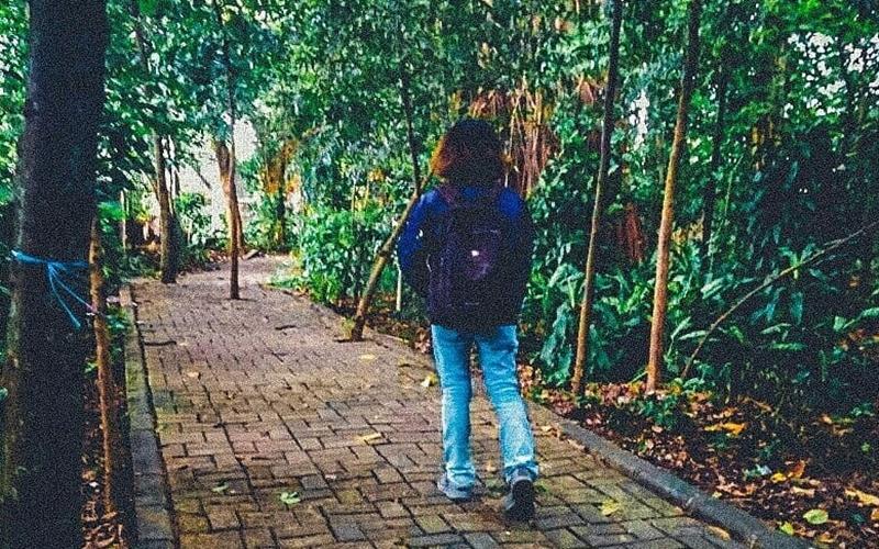 Hutan Kota Srengseng via @rurryjuliansyah31