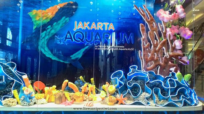 Jakarta Aquarium via Liswanpertiwi