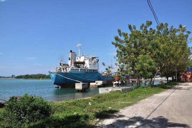 Pelabuhan Krueng Geukueh via Statusacehnet
