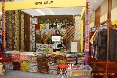 Wisata Batik Dewi Arum Kliwonan via Indonesia-produckcom