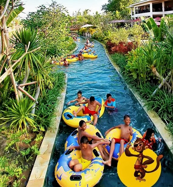 Donte Wild River via Jogjabaycom