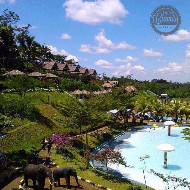 Mega Wisata Icakan via IG @eksploreciamis