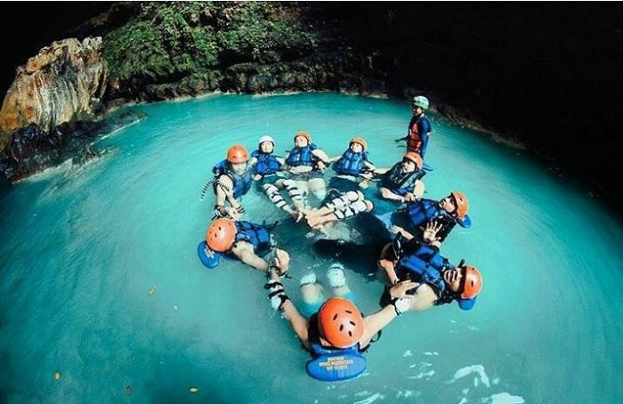 Rafting Sungai Citumang via IG @saktiwildan