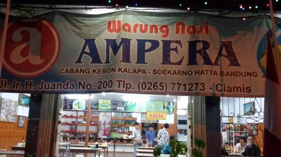Rumah Makan Ampera Ciamis
