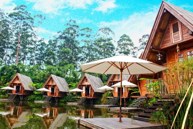 Villa di dusun bambu