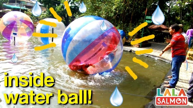 Water Ball via Youtube