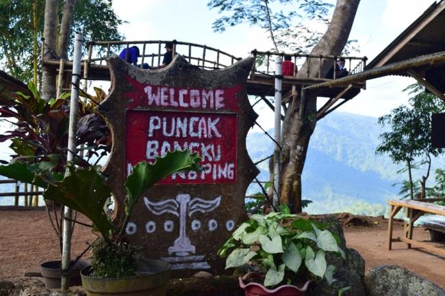 Wisata Puncak Bangku Rancah. (Foto Dok. Tonz)