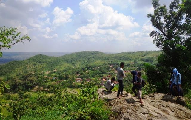 Bukit Janjang Blora via Inet