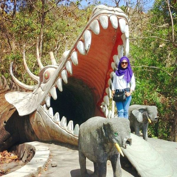 Geopark Batu Seribu via IG @arista_na