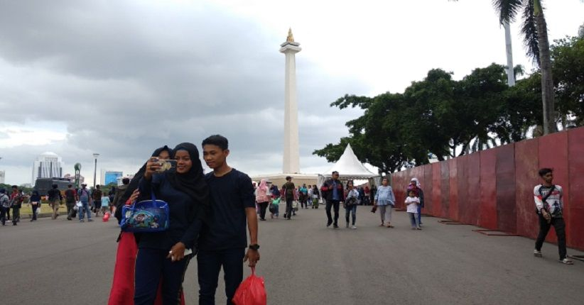 Liburan ke Monas via iNews