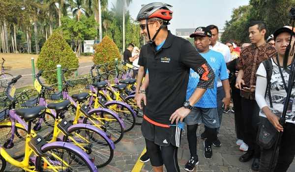 Menyewa Sepeda via Beritasatu