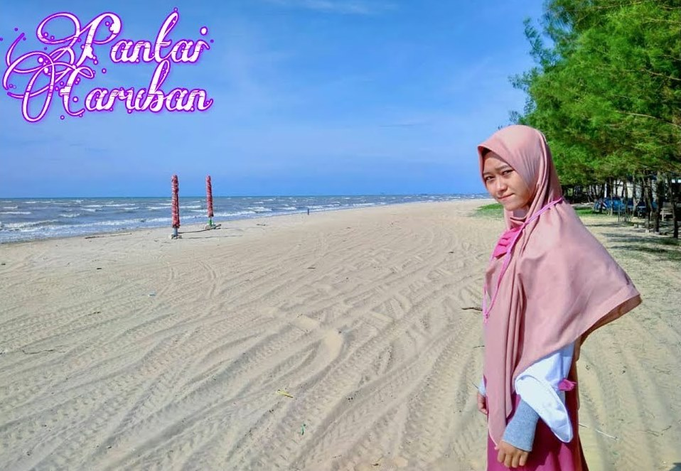 Pantai Caruban via Yotube