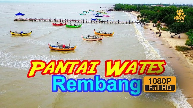 Pantai Pasir Putih Wates via Youtube