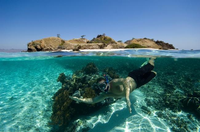 Snorkeling di Pulau Komodo via miner8