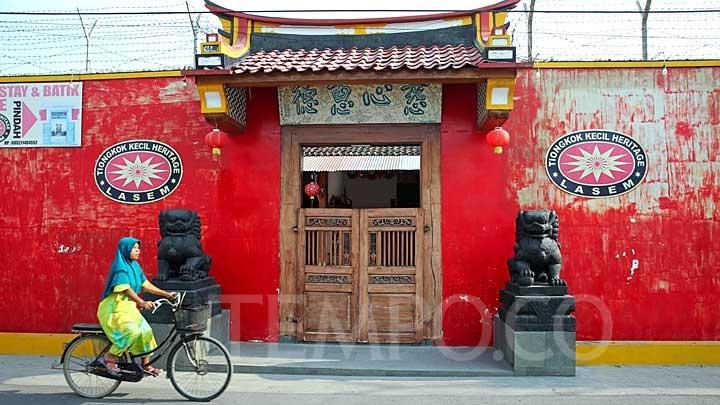 Tiongkok Kecil Heritage Lasem via Tempoco