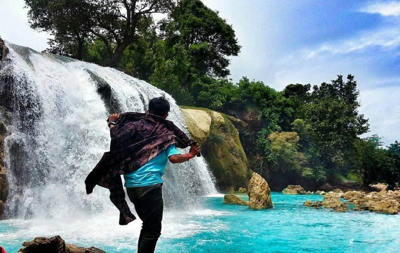 Air Terjun Toroan via IG @aqinfhy_