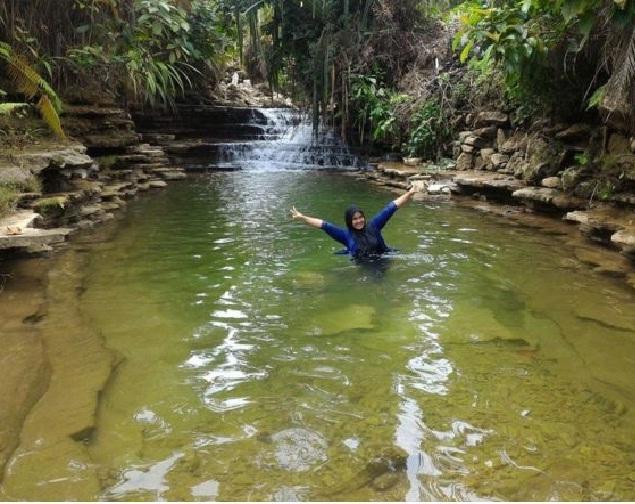 Danau Lembah Air Terjun Putra Jaya
