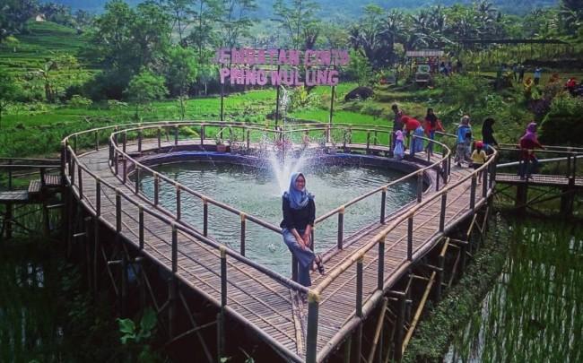 Jembatan Cinta Purbalingga via IG @tiarapamula