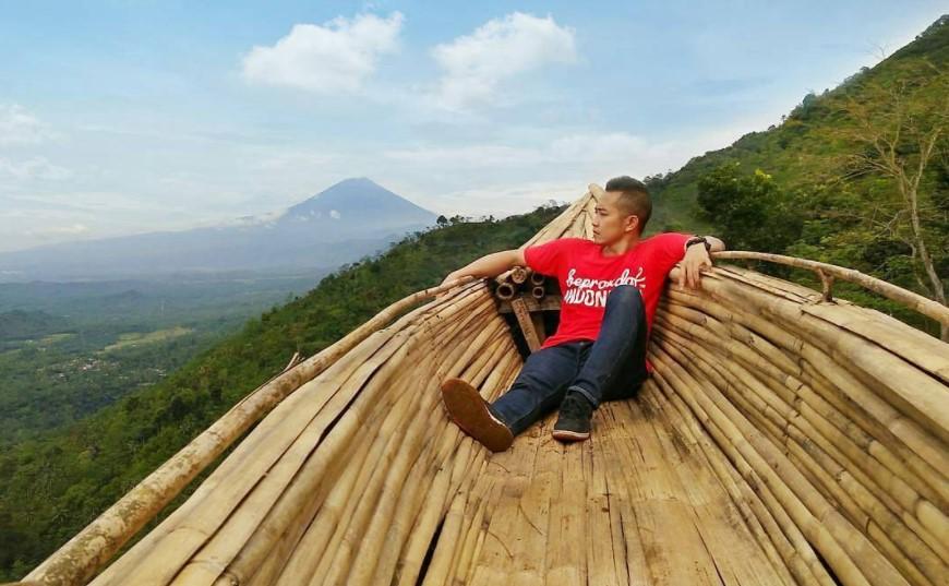 Puncak Batur Purbalingga via IG @adityabagussantoso