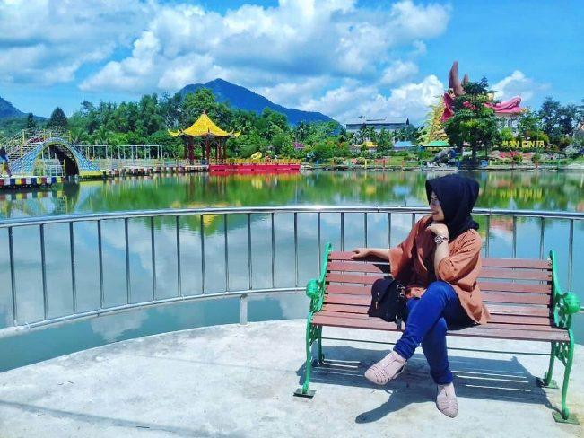Taman Cinta Talagening Bobotsari via Datawisata