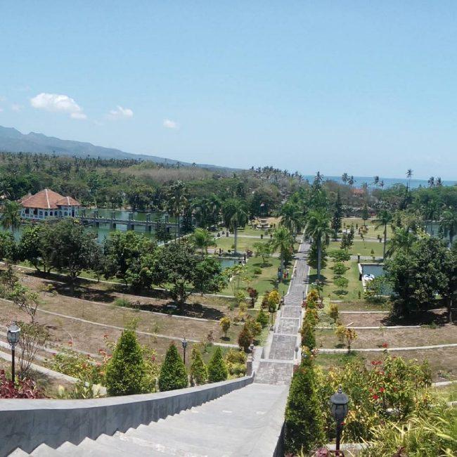 Taman Ujung Karangasem via IG @komangreksa