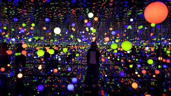 Infinity Mirrored Room via Tripadvisor