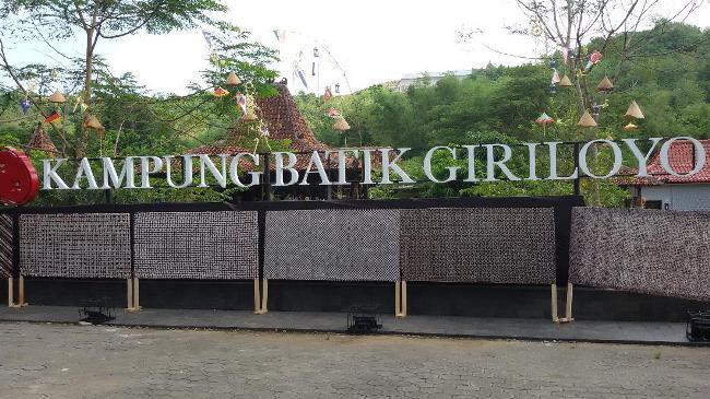 Kampung Batik Giriloyo via Detik
