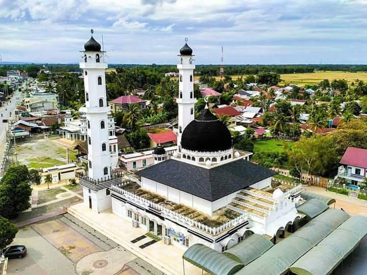 Masjid Abu Beureueh via Twitter