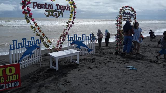Pantai Depok Bantul via Liputan6