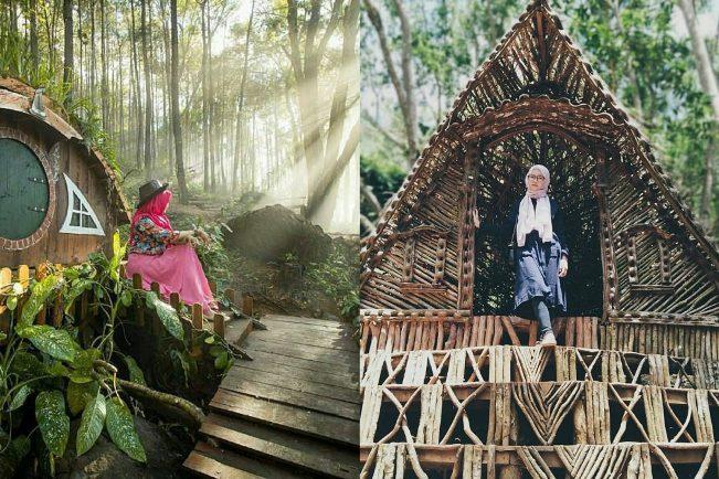 Seribu Batu Songgo Langit via IG @mita_oci (kiri), @bellqis_fort21 (kanan)