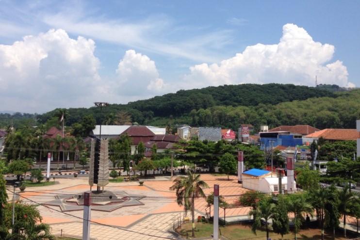 Alun-Alun Kota Banjar via Foursuare