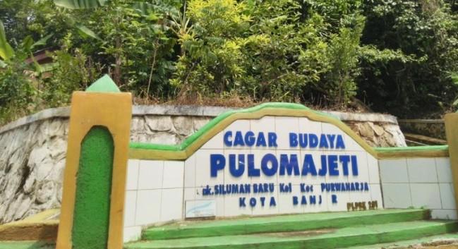 Cagar Budaya Pulo Majeti via Detik