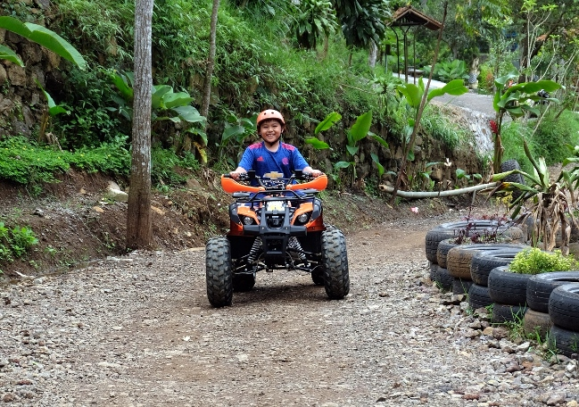 Wahana ATV Riding Dago Dreampark via Tesyaskinderan
