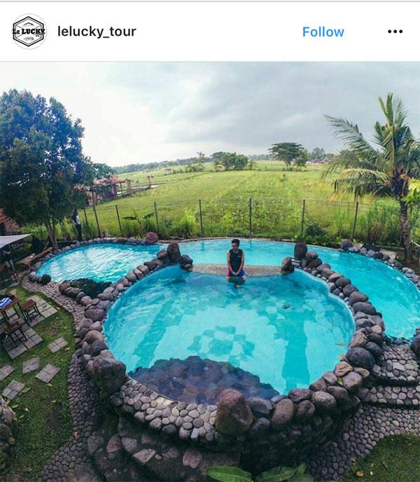 Berenang Seru via IG @Lelucky_tour