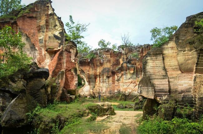 Bukit Kapur Arosbaya via Egieligius