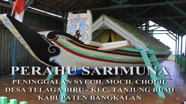 Perahu Sarimuna Syaichona Moh. Cholil via Pulaumadura