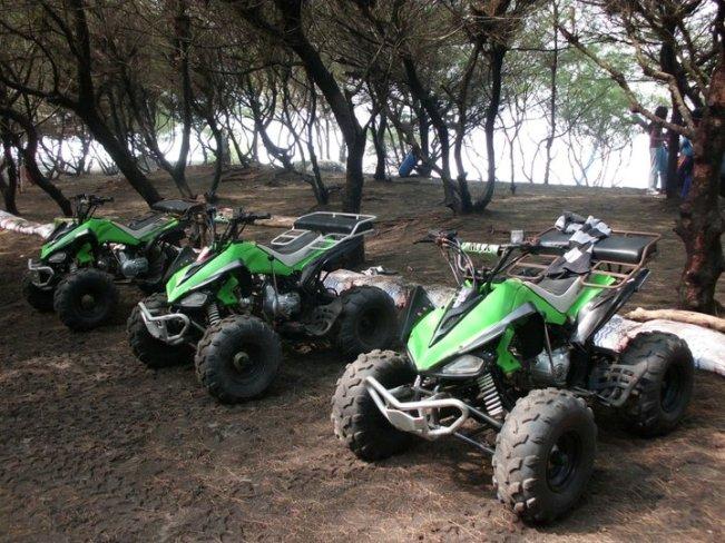 Fasilitas ATV Pantai Kuwaru