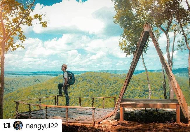 Gardu Pandang Ecopark Jatisari Seropan 3 via IG @nangyul22