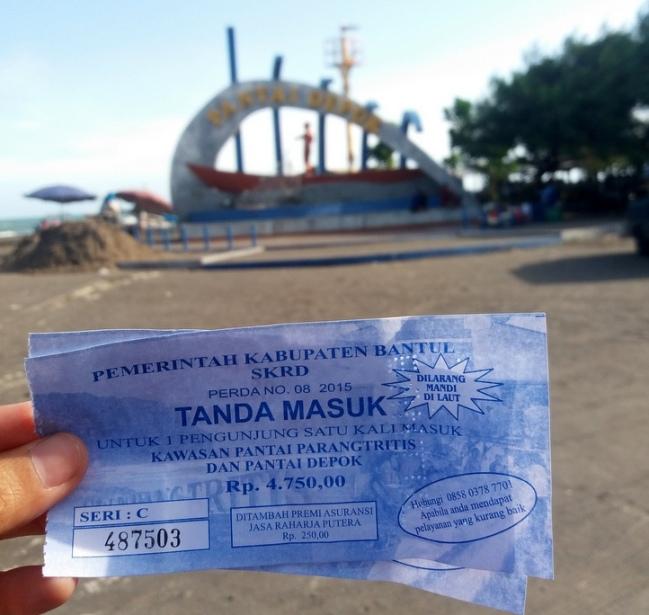 Harga Tiket Masuk Pantai Depok Bantul via Tempatasik
