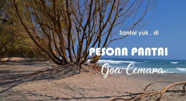 Menikmati Keindahan Pantai Goa Cemara via Youtube