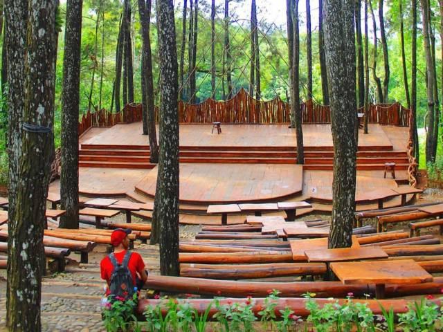 Panggung Alam untuk Event via IG @jogjajateng