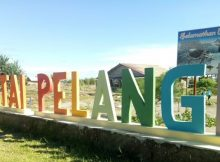 Pantai Pelangi Jogja via Tribunnews