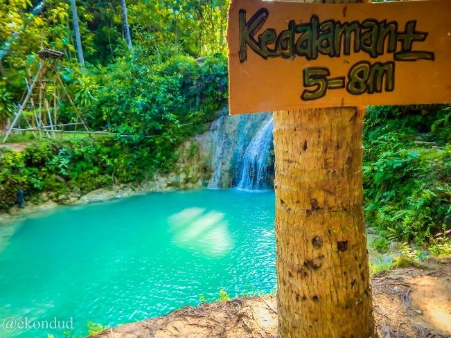 Wisata Alam Air Terjun Kedung Pengilon Bantul via IG @ekondud
