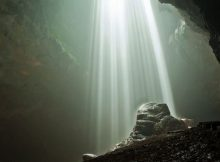 Cahaya Dari Syurga di Goa Gajah Bantul